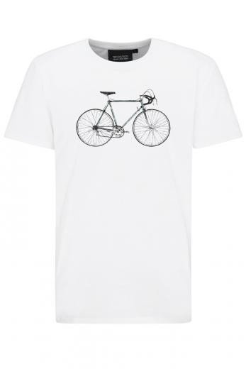recolution Basic T-Shirt #RACINGBIKE white