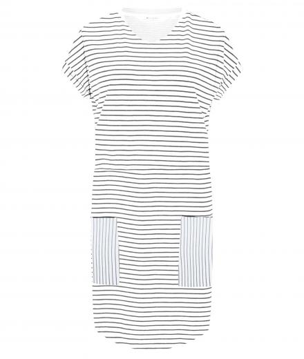 recolution Jerseykleid Casual #STRIPES white navy | L