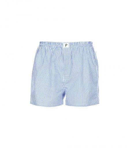 recolution Boxershorts Classic #Checked light blue/ white   M