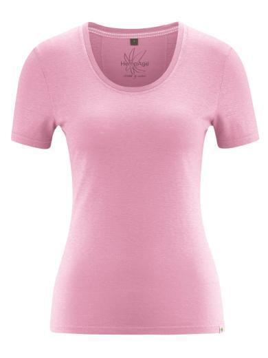 HempAge T-Shirt Jersey Rose