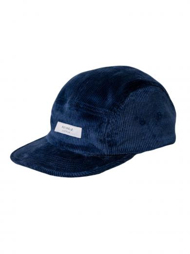 Rotholz Label Cord 5-Panel Bio Cap Blau
