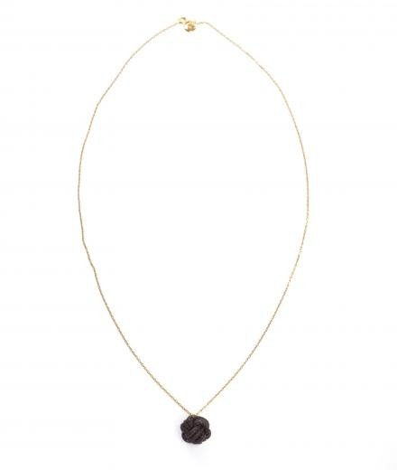 ROYAL BLUSH Fist Necklace Mini Piombo