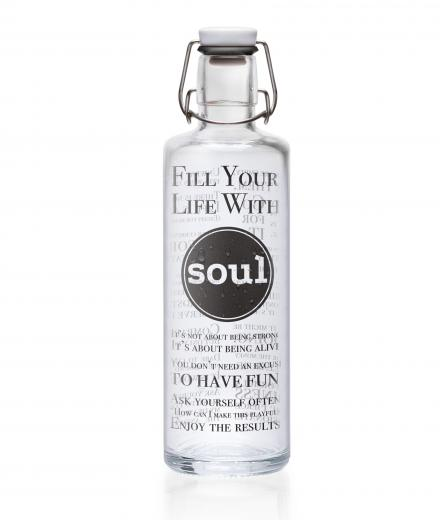 soulbottles Fill your Life with Soul 1,0 Liter 1,0 L