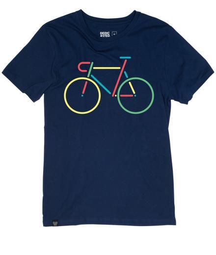 DEDICATED Stockholm T-Shirt Color Bike