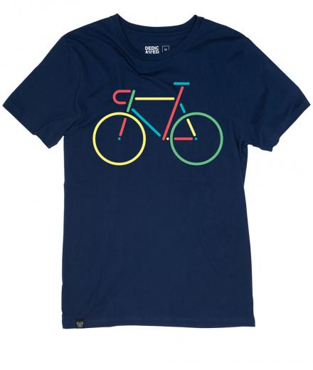 DEDICATED Stockholm T-Shirt Color Bike