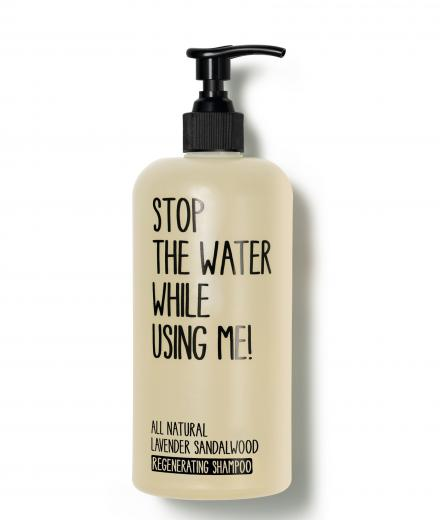 STOP THE WATER WHILE USING ME! Regenerating Shampoo All Natural Lavender Sandalwood