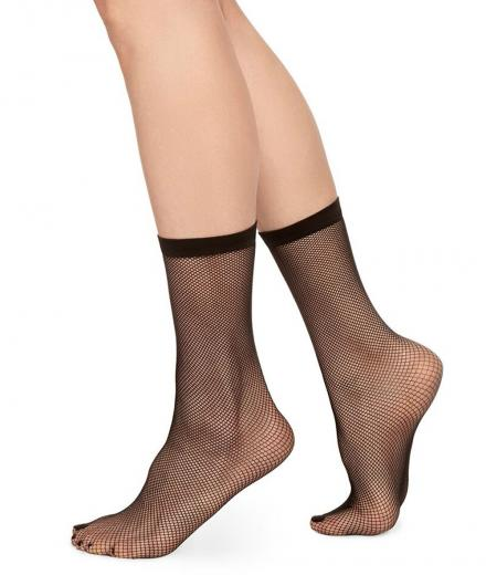 SWEDISH STOCKINGS Liv Net black | One Size