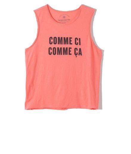 Thinking MU Comme Ci Comme Ça peach echo | L