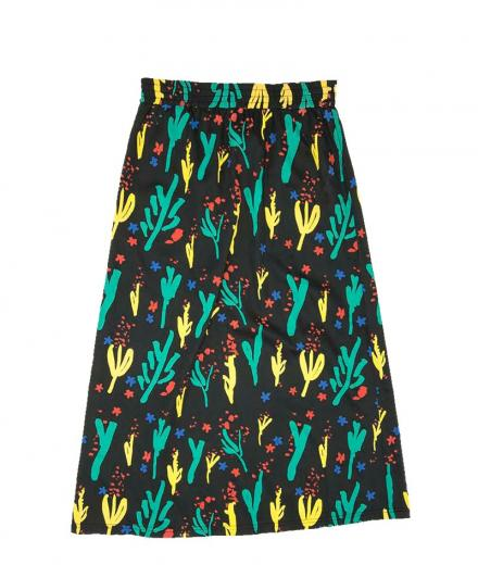 Thinking MU Flowers Skirt Pol