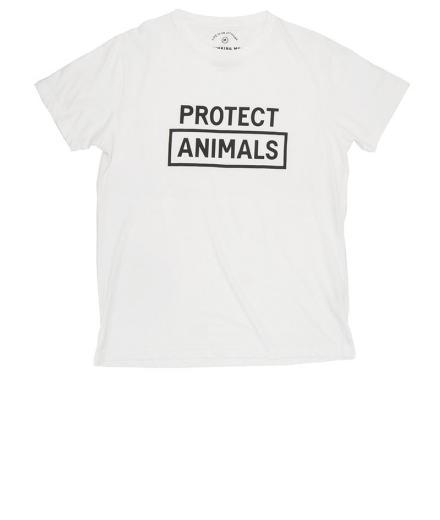 Thinking MU Protect The Animals Tee Snow White