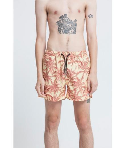 Thinking MU Yellow Palmeras Swimwear