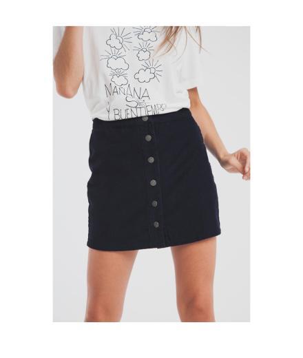 Thinking MU Corduroy Short Skirt