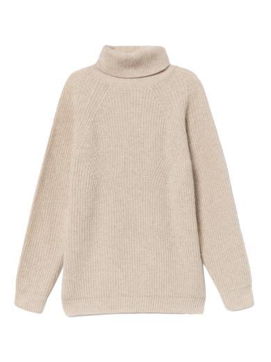 Thinking MU Matilda Knitted Sweater Beige