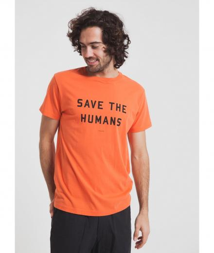 Thinking MU Save The Humans Tee