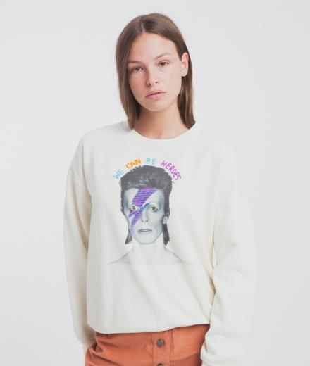 Thinking MU Bowie Sweatshirt Villana Art