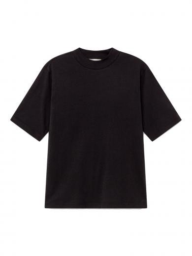 Thinking MU Basic Mock T-Shirt black