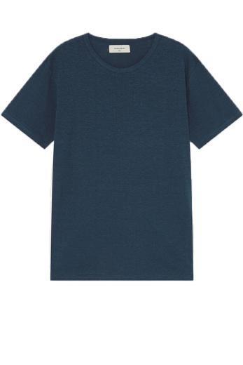 Thinking MU Hemp T-Shirt blue | L