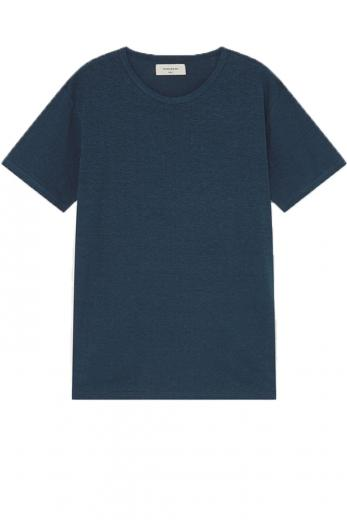 Thinking MU Hemp T-Shirt blue