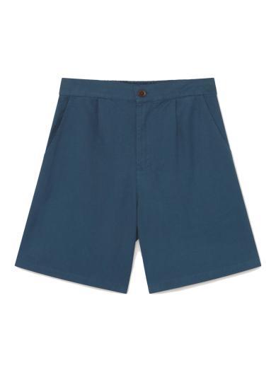 Thinking MU Hemp Fianga Short blue | L
