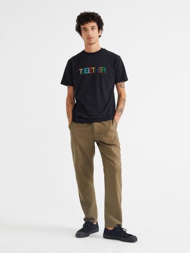 Together T-Shirt men Black