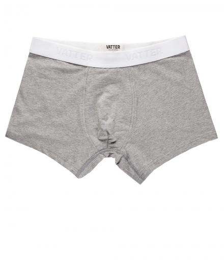 VATTER Trunk Short Tight Tim grey melange | S