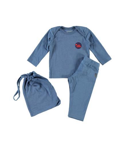 Imps & Elfs Pyjama 80 | blau