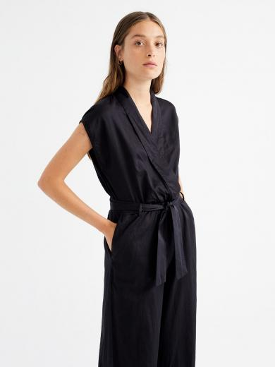 Thinking MU Malawi Jumpsuit Black