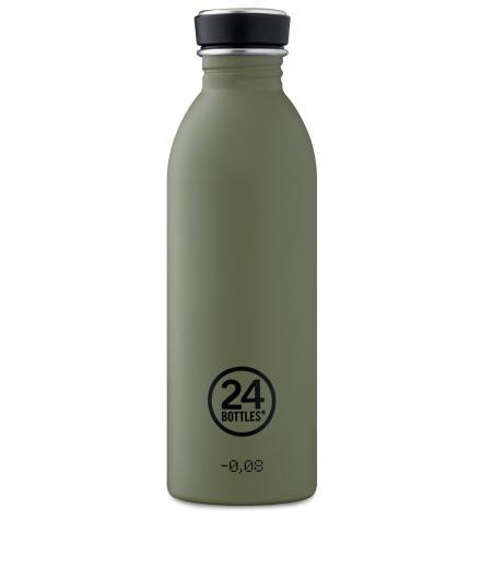 24Bottles Kratzfeste Trinkflasche 0,5l sage | 0,5l