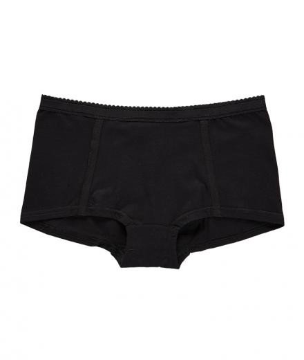 VATTER Boy Short Easy Emma schwarz M
