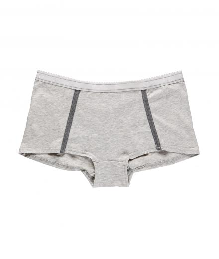 VATTER Boy Short Easy Emma grey melange M