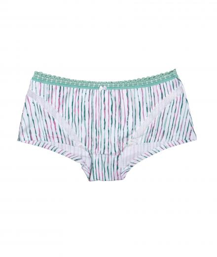 VATTER Boy Short Easy Emma mint stripes M