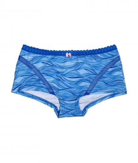 VATTER Boy Short Easy Emma blue waves S