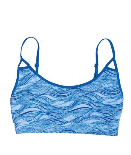 VATTER Bustier Peppy Paula blue waves S