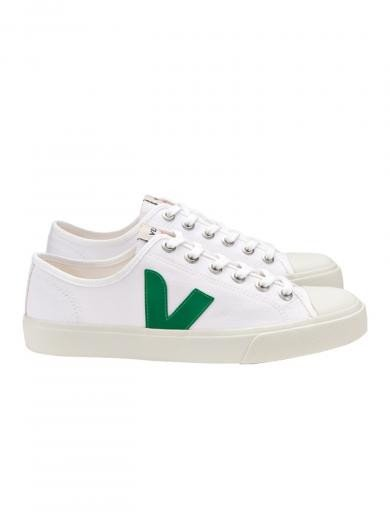 VEJA Wata Canvas White Emeraude white | 42