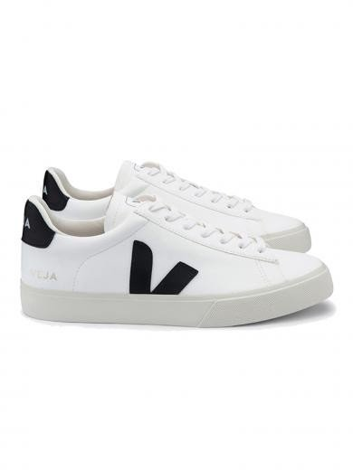 VEJA Campo Chromefree Leather White Black 42