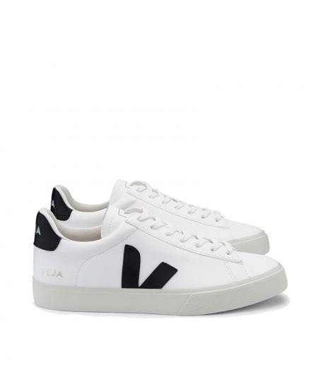 VEJA Campo Chromefree Leather White Black 46