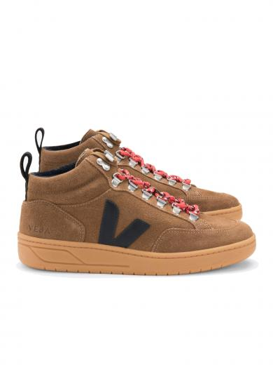 VEJA Roraima Suede Brown Black Natural Sole