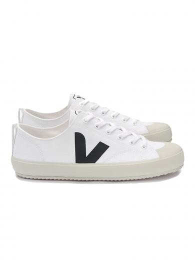 VEJA Nova Canvas White Black