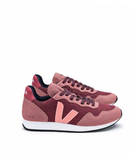 VEJA WOMAN SDU Pixel Burgundy Dried Petal Blush