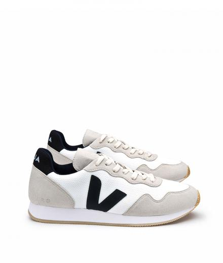 VEJA SDU B-Mesh White Natural Black