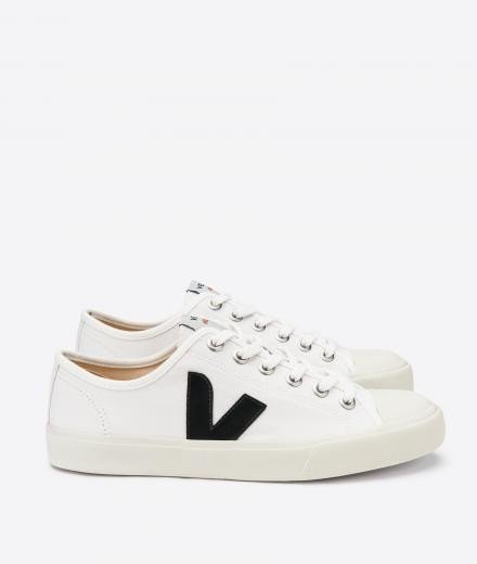 VEJA Wata Canvas white black | 43