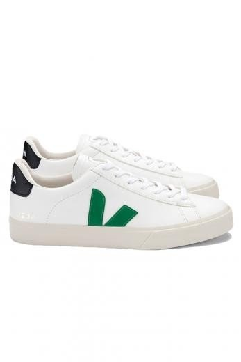VEJA Campo Easy Extra White Emeraude Black