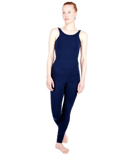 YOIQI Jumpsuit Tight Deep Blue | M