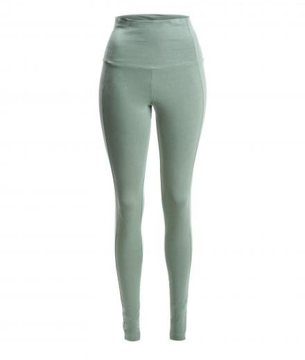 YOIQI Yoga Leggins High Waist sea spray | L