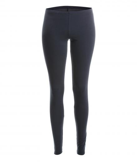 YOIQI Yoga Leggins Plain soft black | M