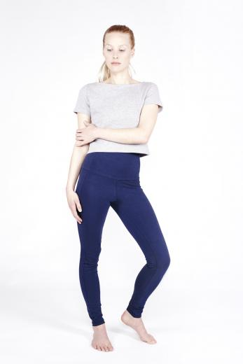 YOIQI Yoga Leggins High Waist Deep Blue | S