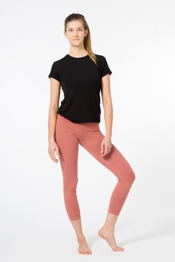 YOIQI Yoga Leggins 7/8 Canyon Rose | S