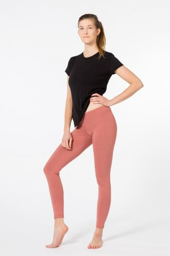 YOIQI Yoga Leggins Plain Canyon Rose | XS