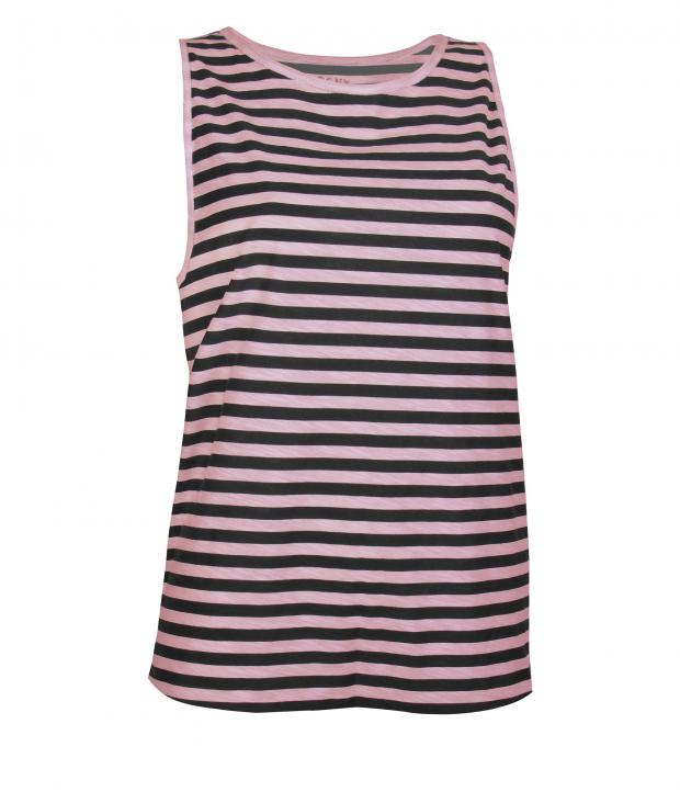 Yoga T-Shirt Muscle Shirt Striped from Glore