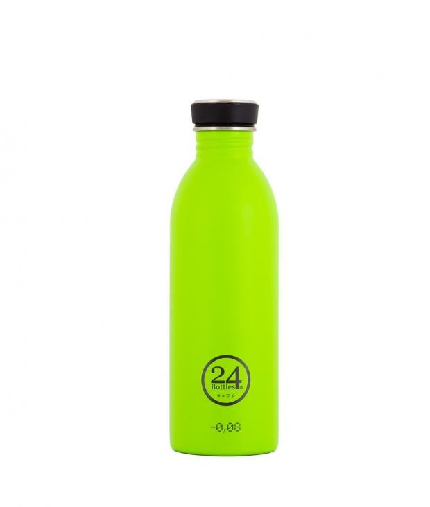 24Bottles Trinkflasche 0,5 Liter lime green